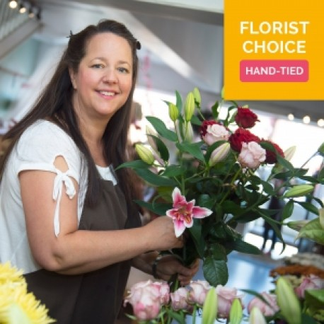 Florist Choice Hand Tied in Water